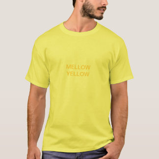 T-shirt jaune mûr