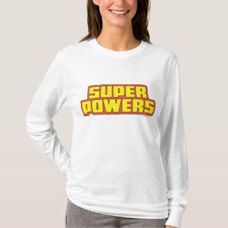 T-shirt Jaune superbe de logo de Powers™