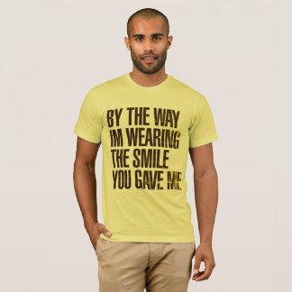 T-shirt Jaunit Masculin By The Way