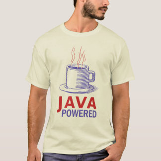 T-shirt Java a actionné
