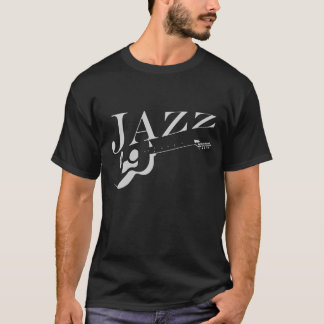 T-shirt jazz de guitare