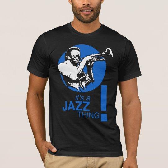 T-shirt jazz thing