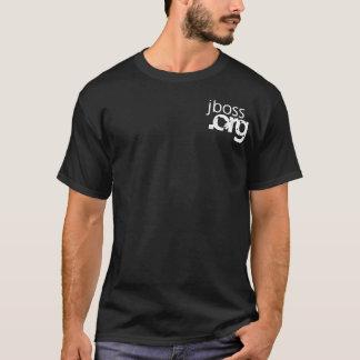 T-shirt JBoss usine Wordle T foncé