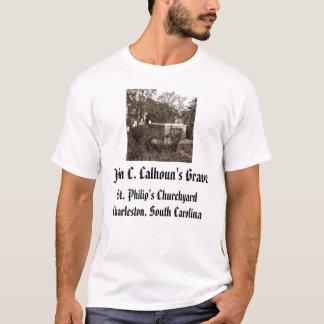 T-shirt jcc, Grave de John C. Calhoun's, Chur de St