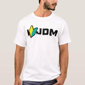 T-shirt jdm du coeur i