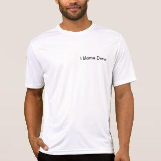 T-shirt Je blâme ai dessiné Microfiber