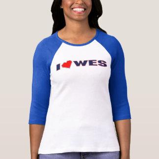 T-shirt je-coeur-wes