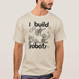 T-shirt Je construis des robots