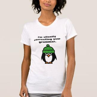 T-shirt Je corrige silencieusement votre chemise de