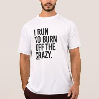 T-shirt Je cours pour consommer le fou - .png