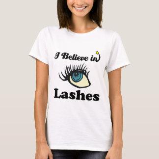 T-shirt je crois aux mèches