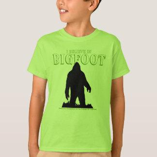T-shirt Je crois en Bigfoot pour des enfants