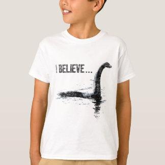 T-shirt Je crois… le monstre de Loch Ness