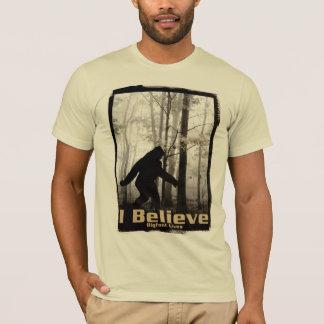 T-shirt Je crois les vies de Bigfoot