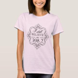T-shirt Je crois toujours à l'amour de bibliothèque du