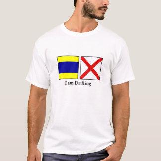 T-shirt Je dérive