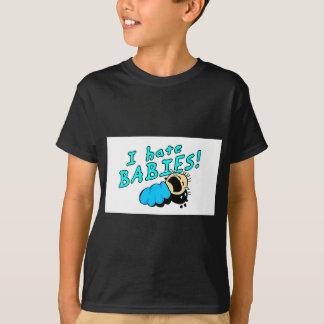 T-shirt Je déteste des bébés !