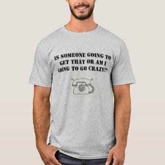 T-shirt Je déteste la sonnerie ignorée de téléphones