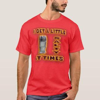 T-shirt Je deviens salé