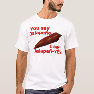 T-shirt Je dis Jalapen-YES