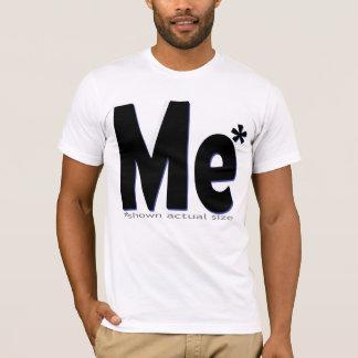 T-shirt Je - échelle grandeur !