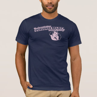 T-shirt Je fais des concessions dans mes croyances