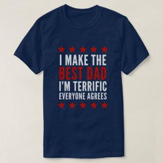 T-shirt Je fais le meilleur papa