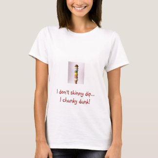 T-shirt Je fais pas l'immersion maigre… I volumineuse