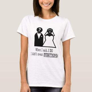 T-shirt Je fais… tout
