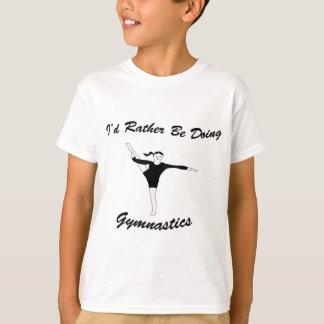 T-shirt Je ferais plutôt la gymnastique