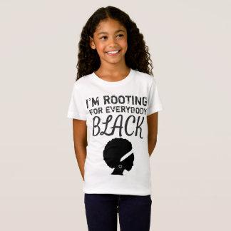 """T-Shirt """"Je fille enracine pour tout le monde noir"""""""