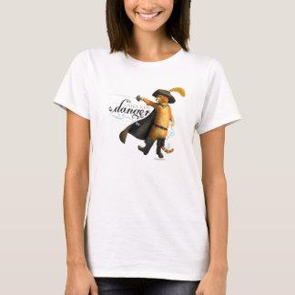 T-shirt Je flirte avec le danger (la couleur)