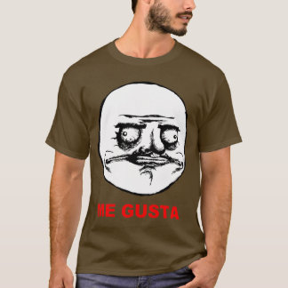 T-shirt Je Gusta (texte)