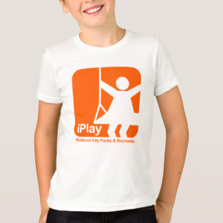 T-shirt je joue l'orange de fille (transparente)