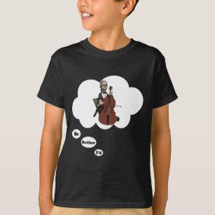 Je préfère jouer T-shirt violoncelle