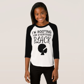 """T-shirt """"Je la chemise de la fille enracine pour tout le"""