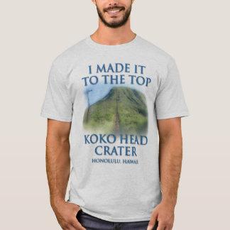 T-shirt Je l'ai fait jusqu'au dessus du cratère principal