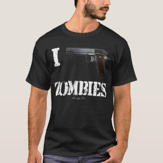 T-shirt Je lance les zombis 2