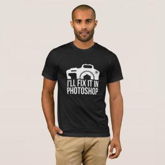 T-shirt Je le fixerai dans le photoshop