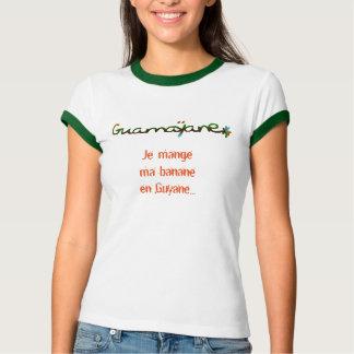 T-shirt Je mange ma banane en Guyane > série hors série