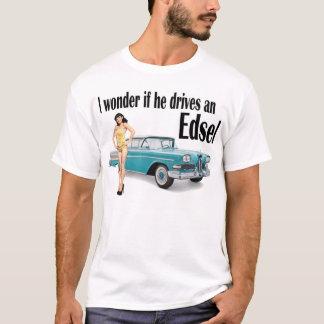 T-shirt Je me demande s'il conduit un Edsel 2