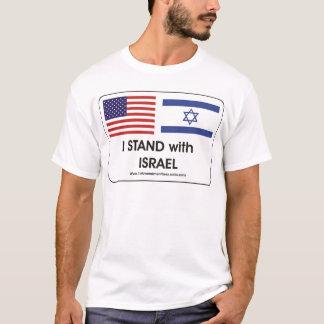 T-shirt Je me tiens avec Irael