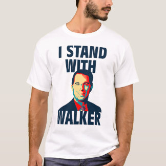 T-shirt Je me tiens avec le marcheur