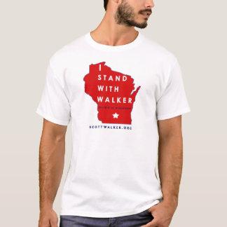 T-shirt Je me tiens avec le marcheur de Scott