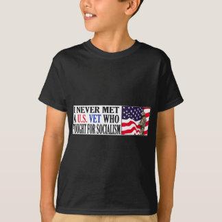 T-shirt Je n'ai jamais rencontré un vétérinaire des USA