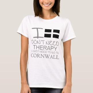 T-shirt Je n'ai pas besoin de thérapie que je dois juste