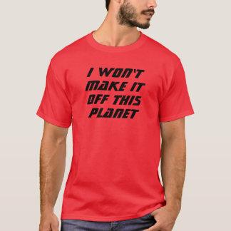 T-shirt Je ne le ferai pas !
