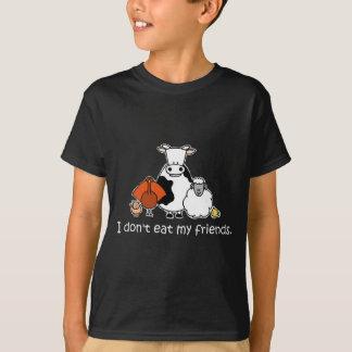 T-shirt Je ne mange pas mes amis