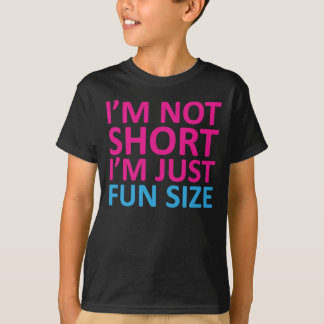 T-shirt Je ne suis pas court je suis juste taille