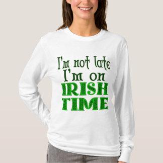 T-shirt Je ne suis pas énonciation drôle de défunt temps